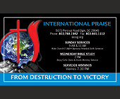 International Praise - Religious Graphic Designs
