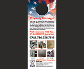 Evan Rice Liberty Claims Consultant - Door Hangers Graphic Designs
