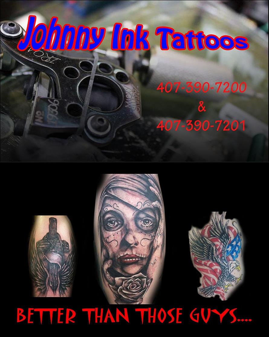 Johnny Ink Tattoos