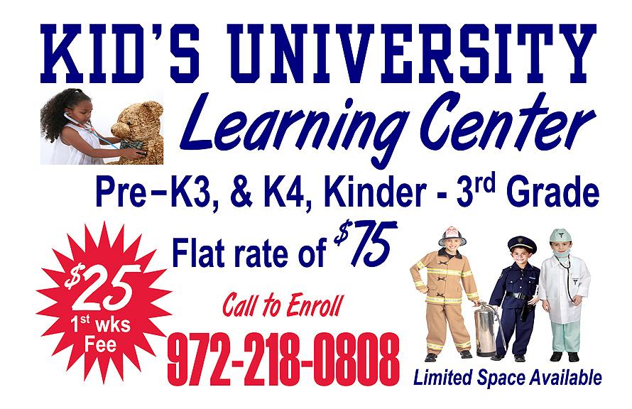 Kid's University Learning Center