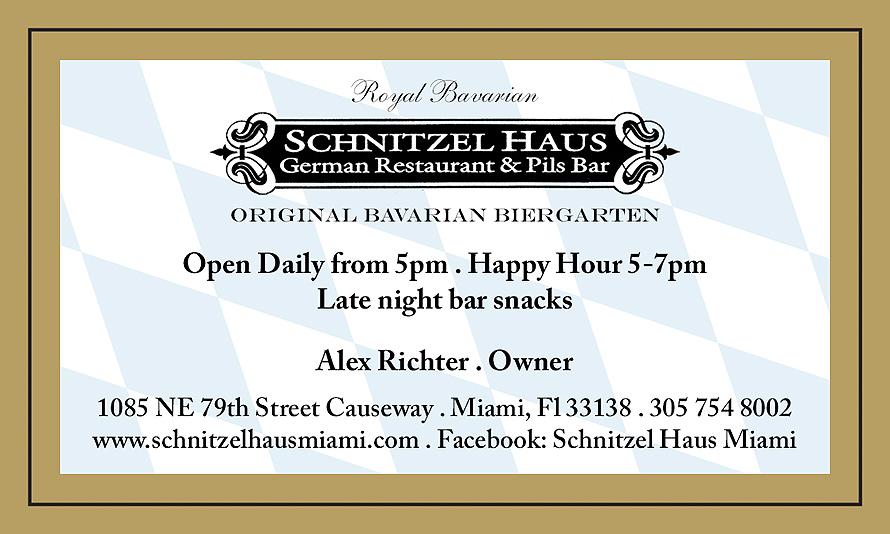 Schnitzelhaus Haus German Restaurant and Pils Bar