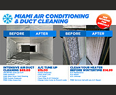 Miami Air Conditioning & Duct Cleaning - created August 2011