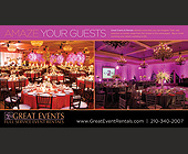 Great Events Full Service Event Rentals - tagged with chairs