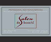 Professional Aesthetics Services Nails - Beauty Graphic Designs