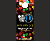 Strong Tower Christmas Decorating Services - Holiday Flyers Graphic Designs