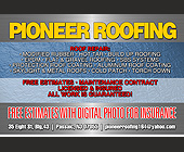 Pioneer Roofing Repair - tagged with free estimates