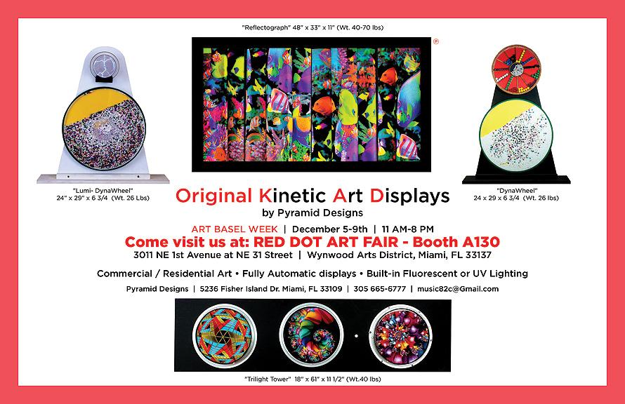 Original Kinetic Art Displays