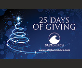 25 Days of Giving - tagged with snowflakes