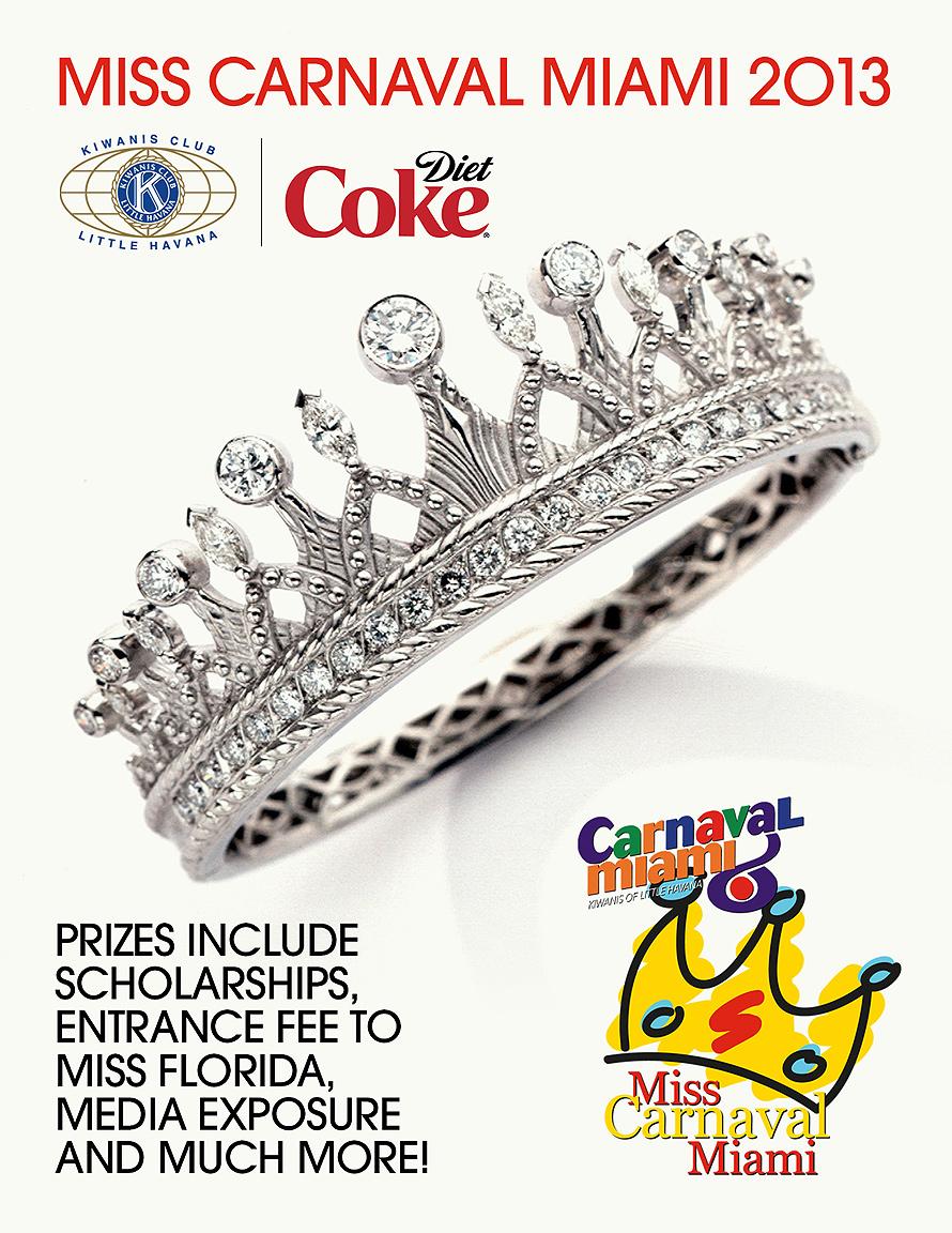 Miss Carnaval Miami 2013