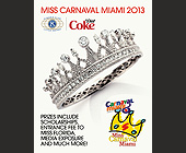 Miss Carnaval Miami 2013 - tagged with and much more