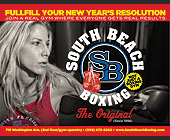 Fulfill Your New Years Resolution - South Florida Boxing Gym Graphic Designs