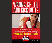 Wanna Get Fit and Kick Butt? - Texas Graphic Designs