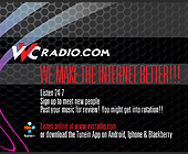 VVC Radio 24/7 - tagged with halftone