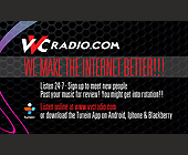 We Make the Internet Better! VVC Radio - Media and Communications Graphic Designs