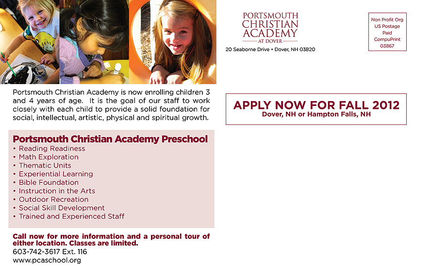 Accepting Applications for Fall Enrollment