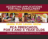 Accepting Applications for Fall Enrollment - Education