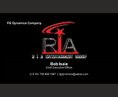 R.I.A. Entertainment Group - Music Industry Graphic Designs