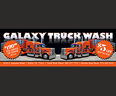 Galaxy Truck Wash - Texas Graphic Designs