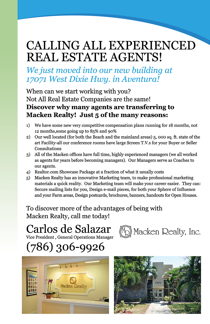 Experienced Real Estate Agents