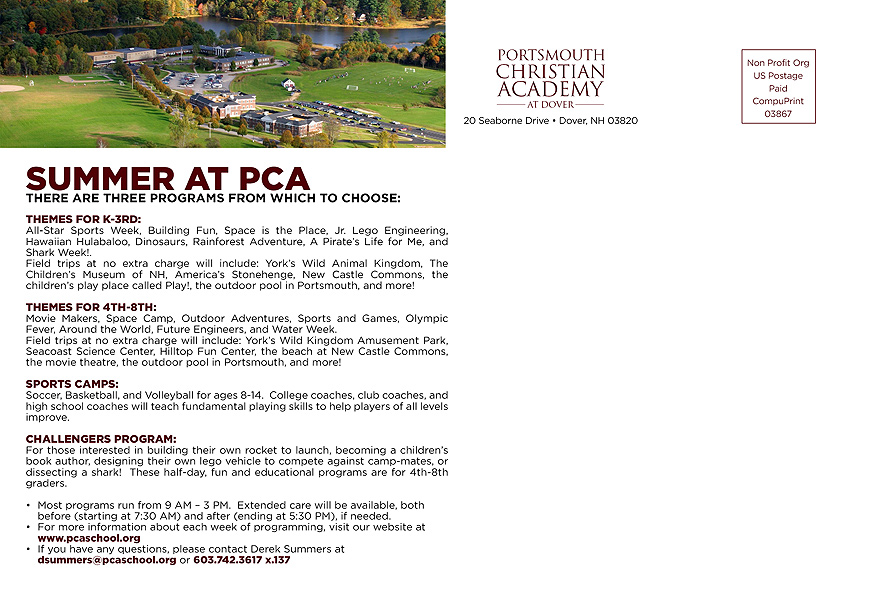 Portsmouth Christian Academy at Dover