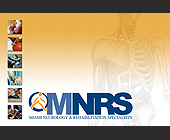 Miami Neurology and Rehabilitation Specialists - Healthcare Graphic Designs
