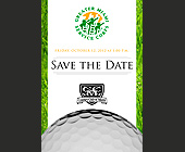 Save the Date Golf Tournament - tagged with save the date