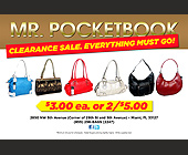 Pocketbook Sale - created May 2012