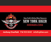 New York Biker - Media and Communications Graphic Designs