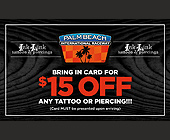 Ink Link Tattoos and Piercings - West Palm Beach Graphic Designs