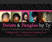 Twists & Tangles by Ty - Beauty Graphic Designs