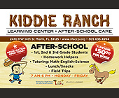 Kiddie Ranch Learning Center After School Care - Family and Kids Graphic Designs