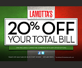 Lamotta's Italian Restaurant and Pizzeria - created August 2012
