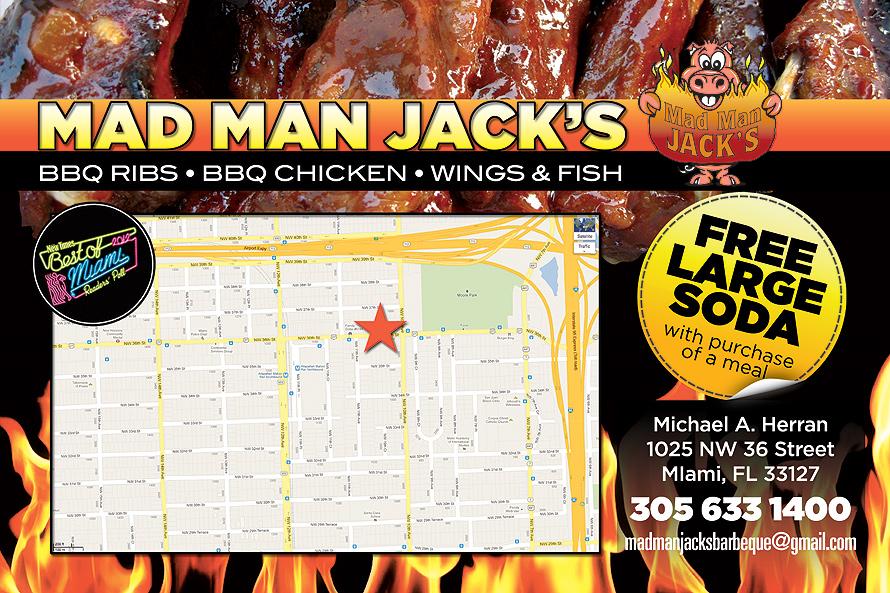 Mad Man Jack's BBQ