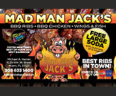 Mad Man Jack's BBQ - Restaurants Graphic Designs