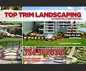 Top Trim Landscaping - Agriculture and Farming Graphic Designs