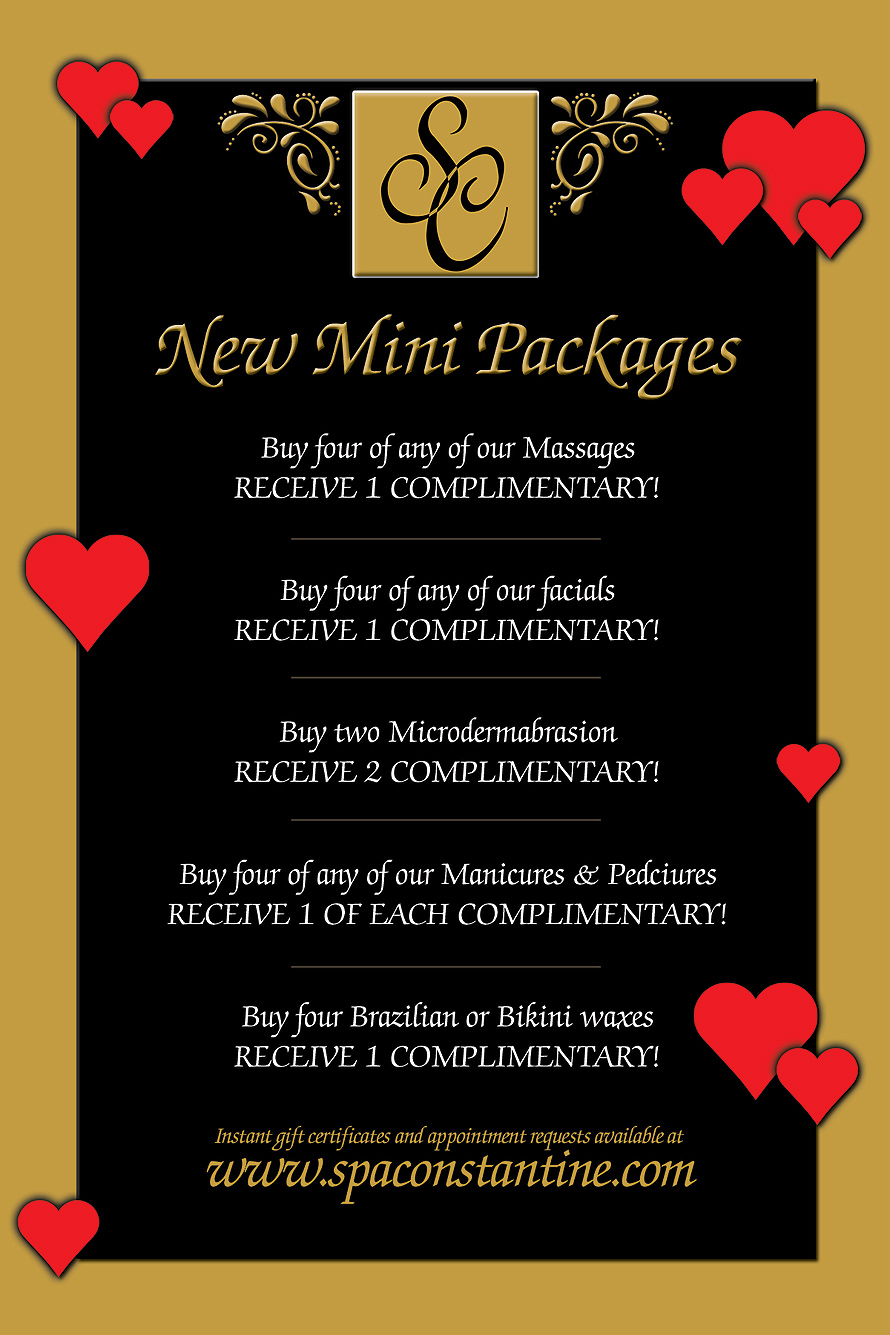 Spa Constantine Valentine's Day Special Promotion
