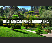 BCLS Landscaping Group Inc.  - 2.25x3.75 graphic design