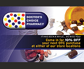 Doctor's Choice Pharmacy - Healthcare Graphic Designs
