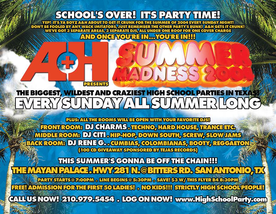Summer Madness 2004