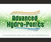 Advanced Hydro-Ponics - Agriculture and Farming Graphic Designs