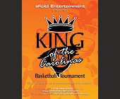 Aficiol Entertainment presents King of the Carolinas - 4.25x5.5 graphic design