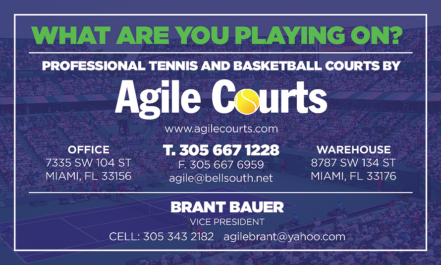 Professional Tennis and Basketball Courts by Agile Counts