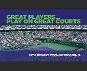 Professional Tennis and Basketball Courts by Agile Counts - tagged with miami