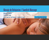 Swedish Massage - Health