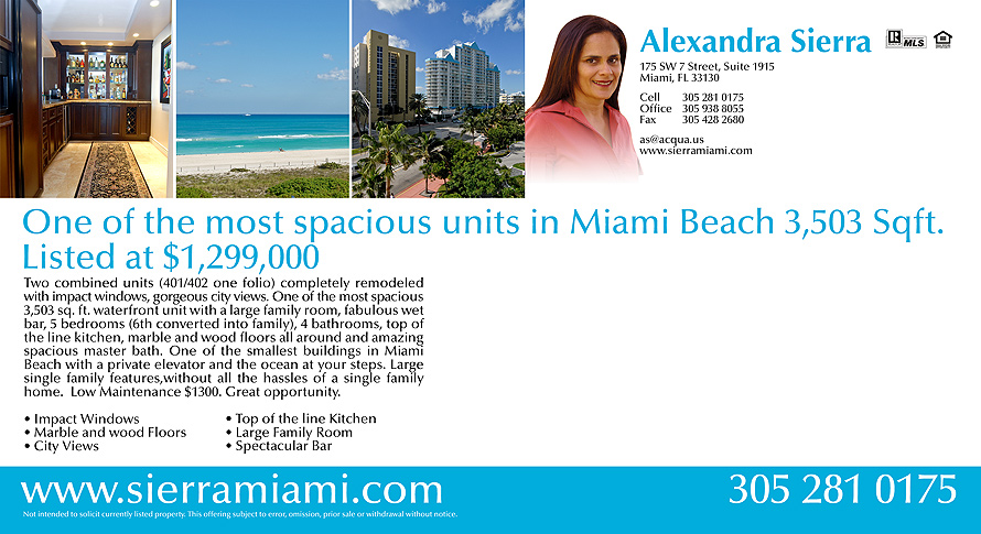 Just Listed The Surf Miami Beach