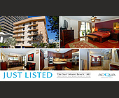 Just Listed The Surf Miami Beach - tagged with not intended to solicit currently listed property