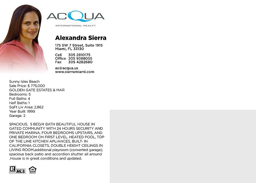 Aqua International Realty