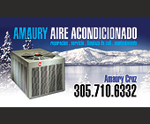 Amaury Air Conditioning - 1125x675 graphic design