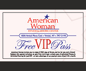 American Woman Fitness and Aerobic Center - 1125x675 graphic design