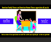 American Family Fitness - 1375x2125 graphic design